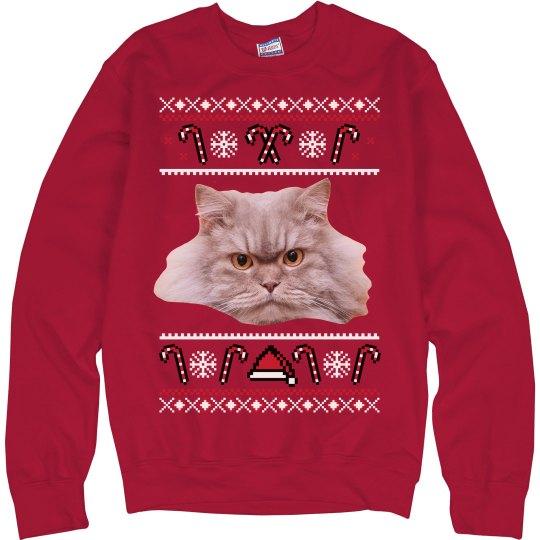 Made-To-Order Pet Ugly Christmas Sweatshirt