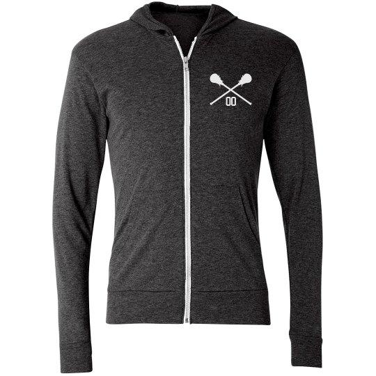 Made-to-Order Team Name, Number, Lacrosse Hoodie