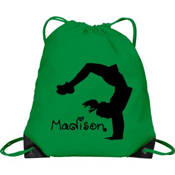 Madison cheerleader bag