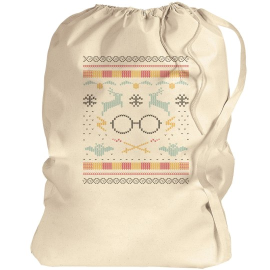 Magic Ugly Sweater Santa Bag