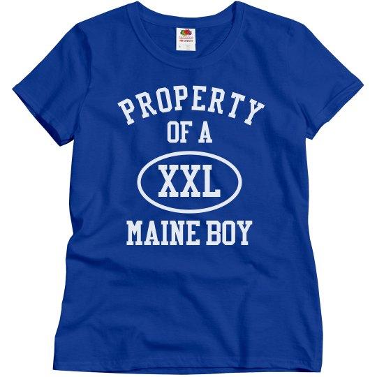 Maine boy
