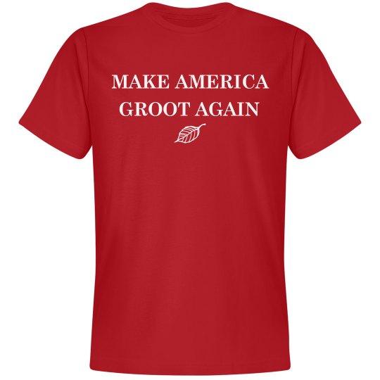 Make America Groot Again Red