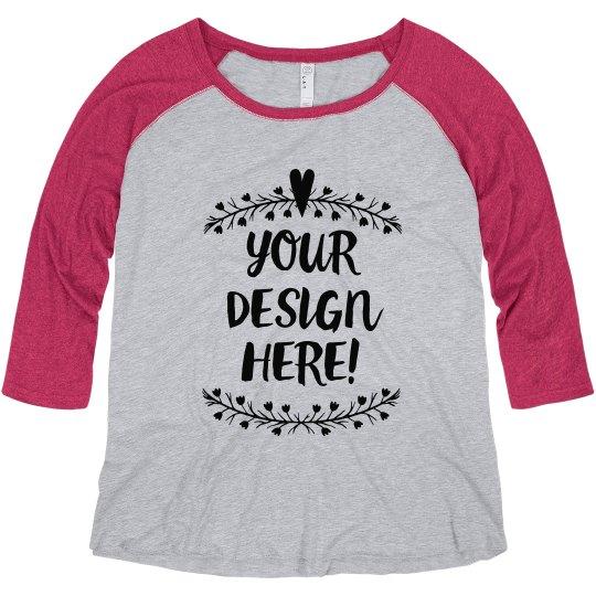 Make Custom Plus Size Tees