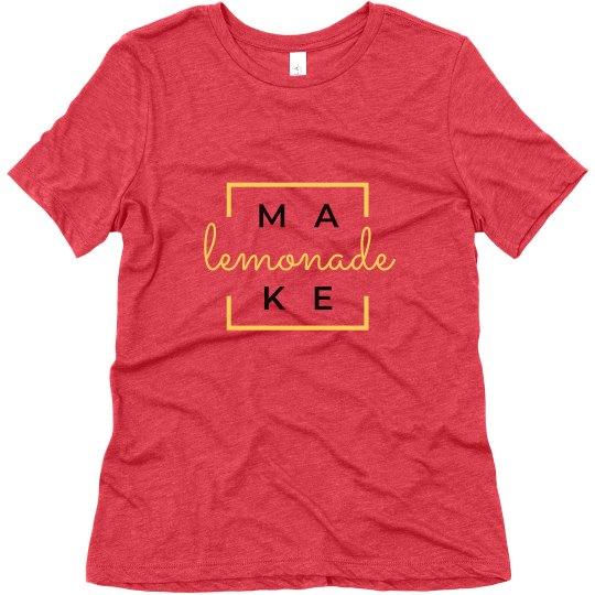 Make Lemonade Box T-shirt