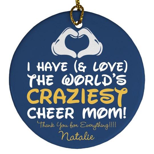 Make Your Crazy Cheer Mom a Christmas Ornament