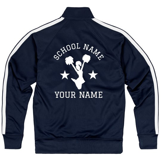 Make Your Own Cheer Jacket Design
