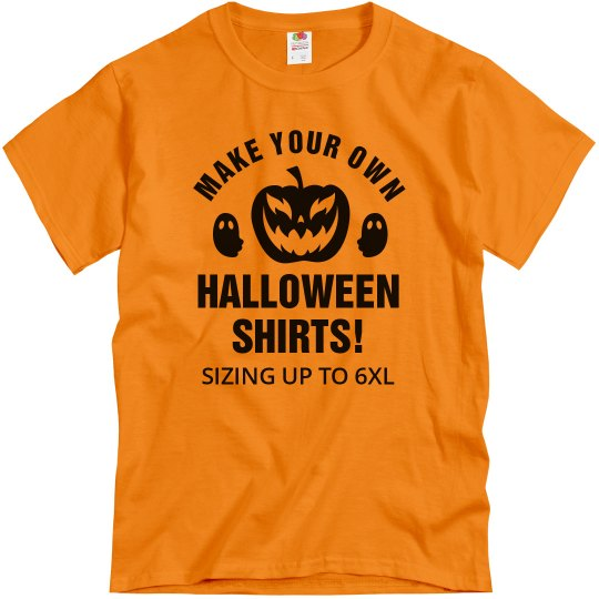 Make Your Own Halloween Shirts