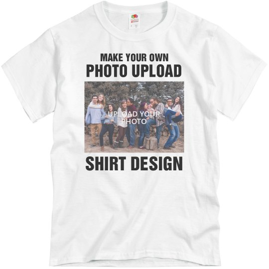 Make Your Own Photo Upload T-Shirts