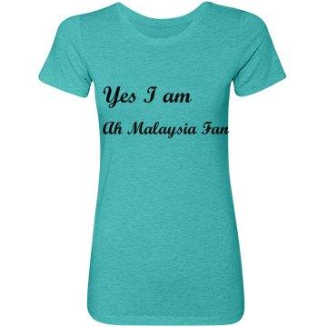 Malaysia fan tee