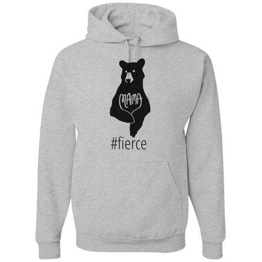 Mama Bear Hoodie Sweatshirt