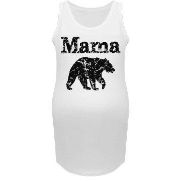 Mama Bear Marternity Tank Top