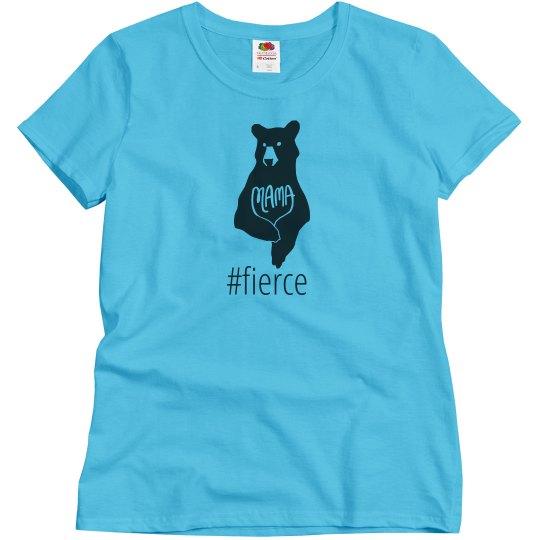 Mama Bear Shirt- Blue