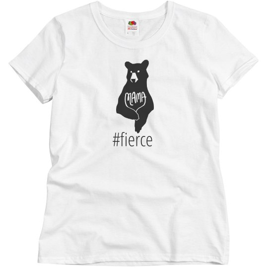 Mama Bear Shirt- White