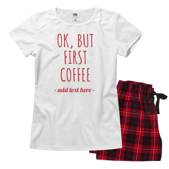 Mama Needs Coffee Before Xmas Gifts