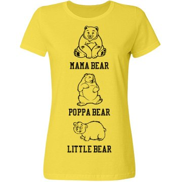 Mama, Poppa, Little Bear