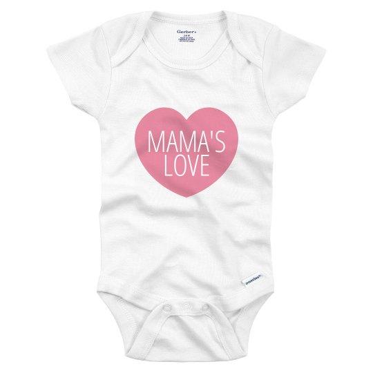 Mama's Love Onesie