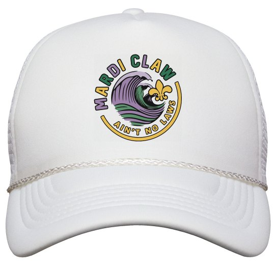 Mardi Claw Trucker Hat