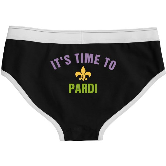 Mardi Gras It's Time To Pardi