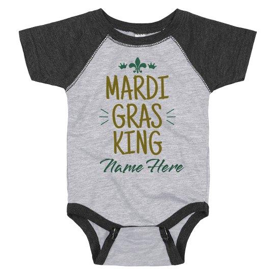 Mardi Gras King Custom Bodysuit