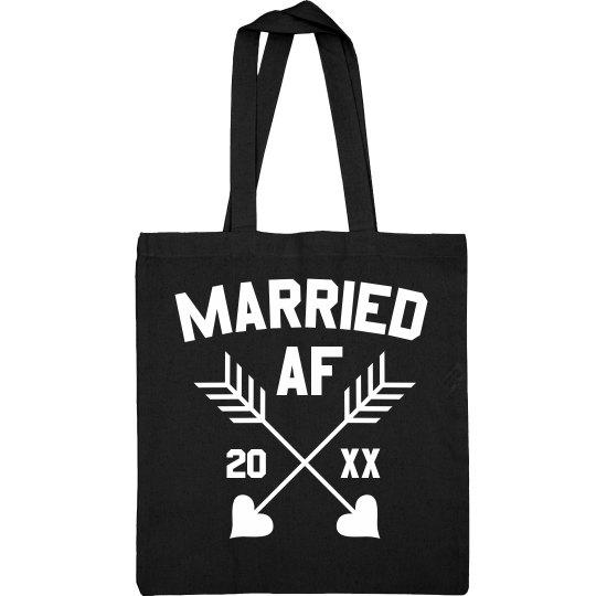 Married AF Shiny Tote
