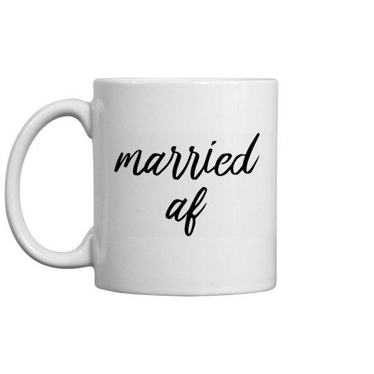 Married AF Wedding Gift
