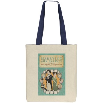 Marrying Mr. Darcy tote