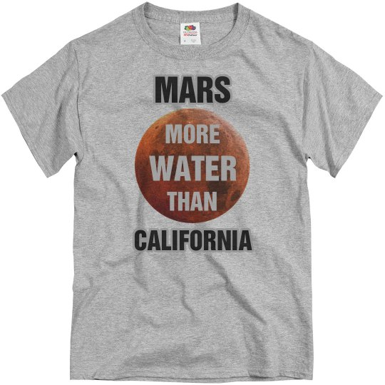 Mars Has More Water Cali