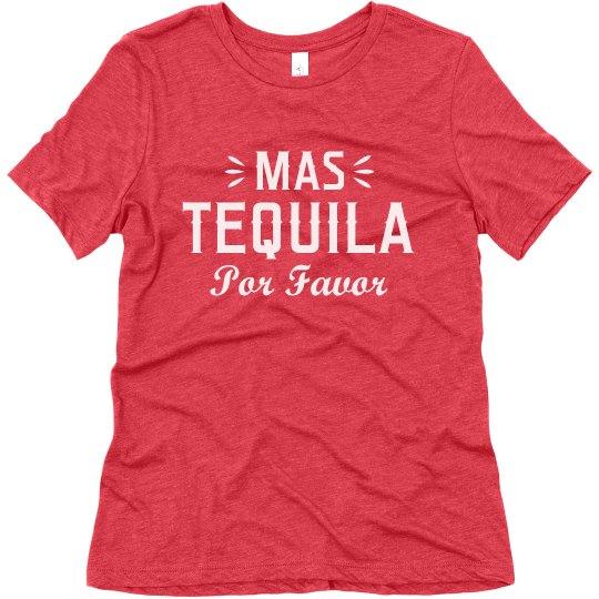 Mas Tequila Cinco de Mayo Drinking