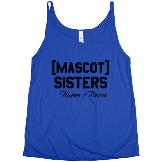 Mascot Sisters Custom Tank