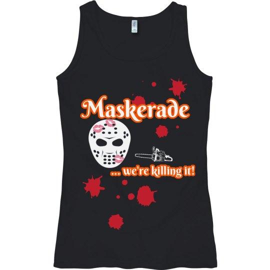 Maskerade Showcase Halloween 2020 - Tank 1