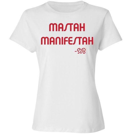 MASTAH MANIFESTAH (White/Red)