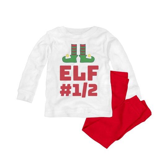 Matching Baby Elf Number 1/2