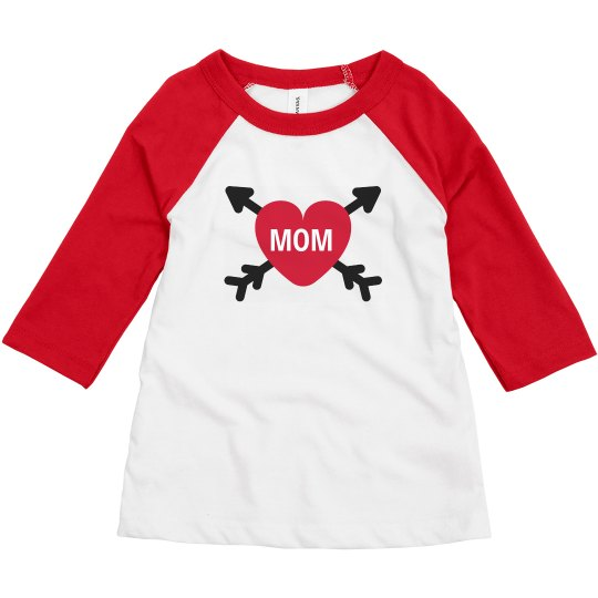 Matching Mom & Toddler Valentine