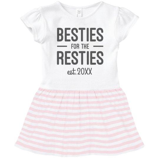Matching Mommy-Daughter Besties Dress