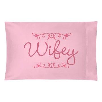 Matching Wifey Pillow