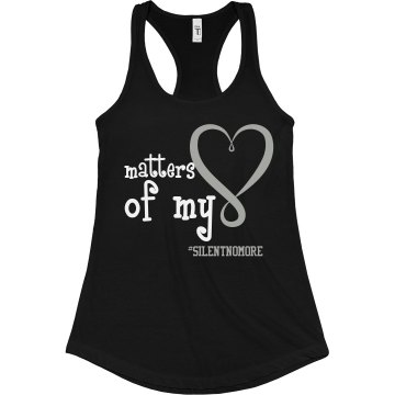 Matters of My Heart Black Shirt