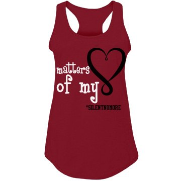 Matters of My Heart Red Shirt