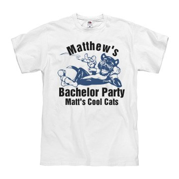 Matt's Bachelor w/ Back