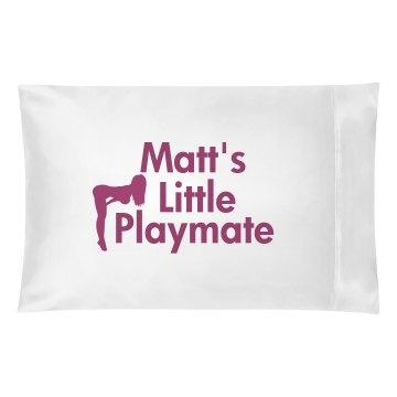 Matt's Playmate Pillow