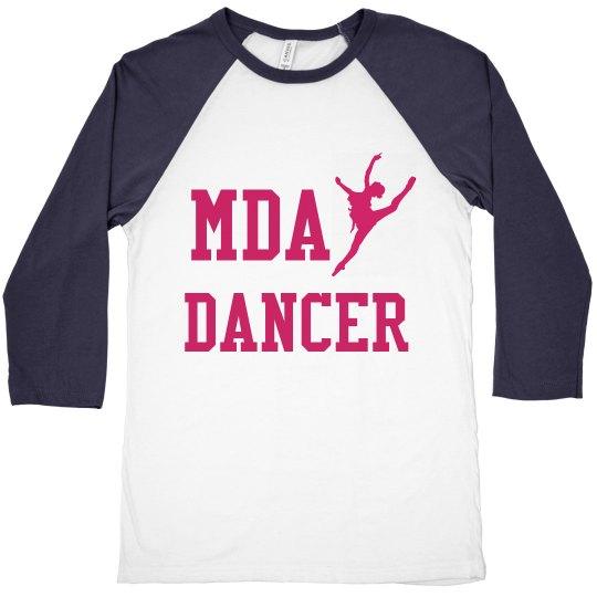 MDA Dancer B-Ball Tee