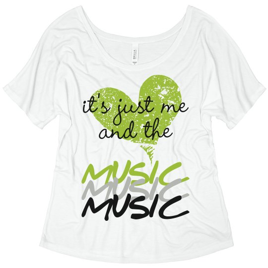 Me & the Music Flowy Tank