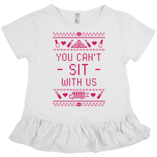 Mean Girls Ruffle Tee Design