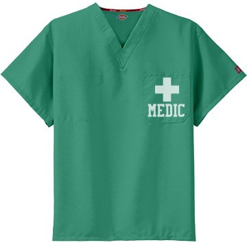 Medic Cross Scrub Top