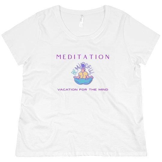 Meditation plus size