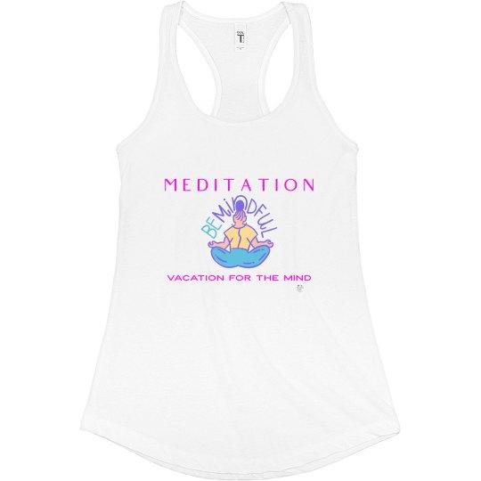 Meditation tank white
