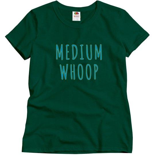 Medium Whoop - turquoise
