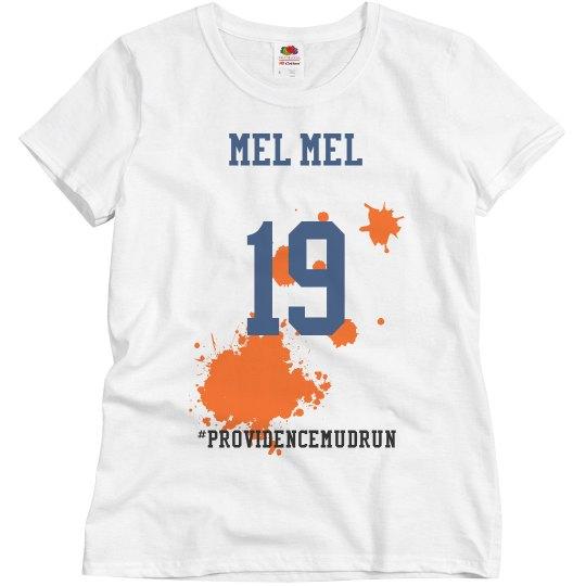 Melissa's t-shirt