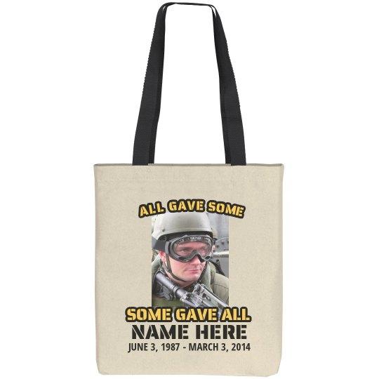 Memorial Military Bag