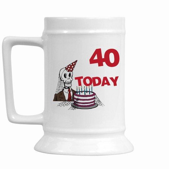 Mens 40 Today Stein