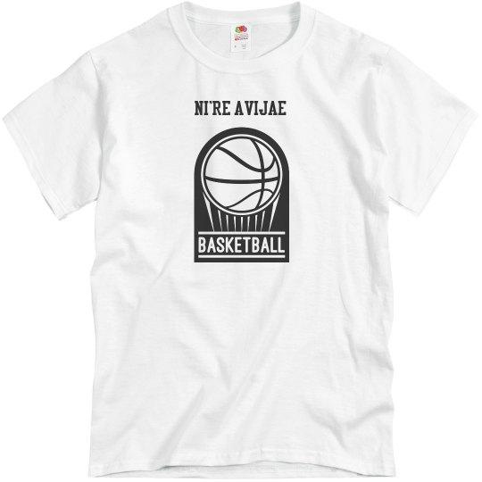 Men's Basketball Tee